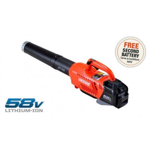 ECHO PB-58V2Ah Power blower c/w 2Ah battery & charger
