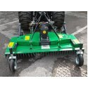 Solis 26 Compact Tractor (26HP with industrial tyres) with the FM150 Finishing Mower