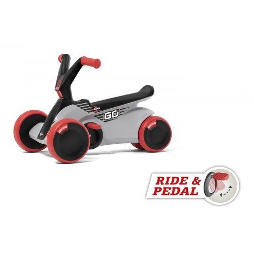 BERG GO2 Pedal Go-Kart Sparx Red (2-in-1)