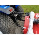 Solis 26 Compact Tractor (26HP with turf tyres) with Winton Flail Mower 1.45mtr