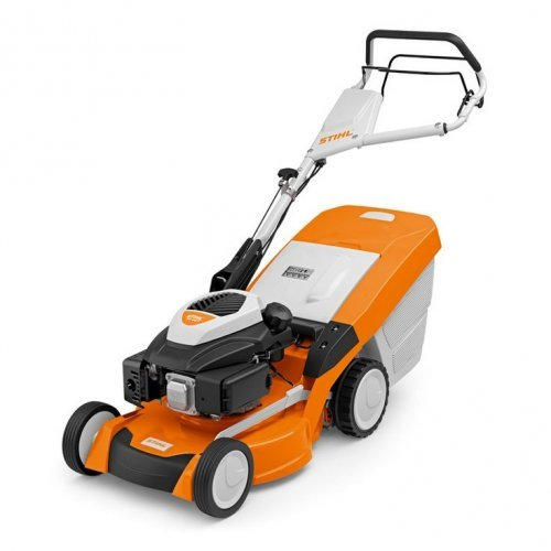 Stihl RM 650 T petrol lawnmower with 3-in-1 function
