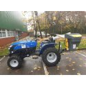 Solis 26 Compact Tractor (26HP with industrial tyres) with Sno-Way Model 4 Salt Spreader
