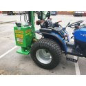 Solis 26 Compact Tractor (26HP with turf tyres) and hedgecutter