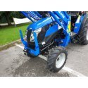 Solis 26 Compact Tractor (26HP with wide agricultural tyres) with Solis 3200 4 in 1 front loader