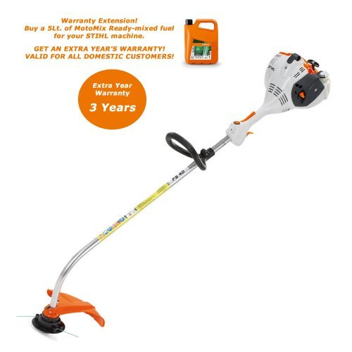 Stihl FS 40 0.7kW modern, convenient and very easy to start brushcutter