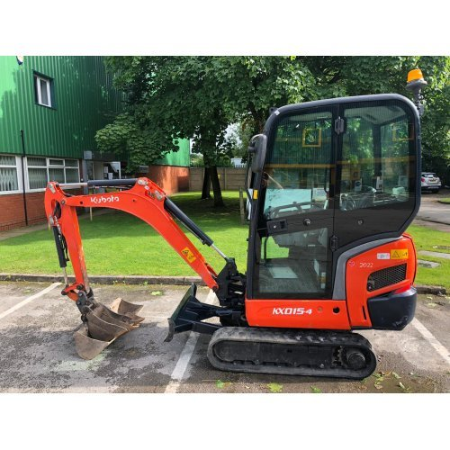 Kubota KX015-4 Mini Digger with 2 Buckets (Finance Available)
