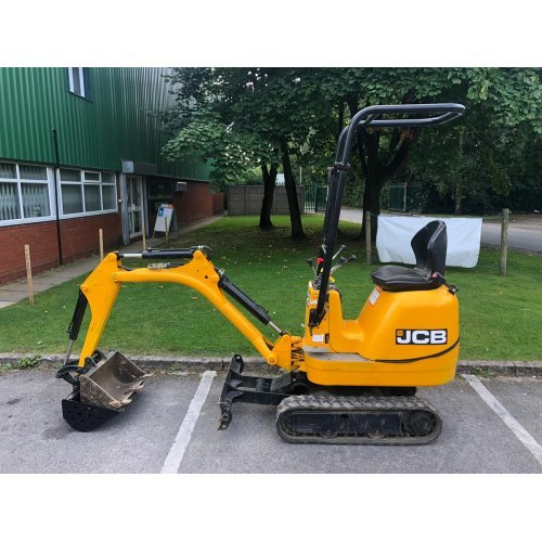 JCB 8008 CTS Micro Excavator / Digger with 2 Buckets (second hand JCB digger)