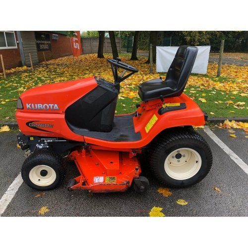 """Kubota G2160E Garden Tractor with 48"""" Mid-mounted Deck"""