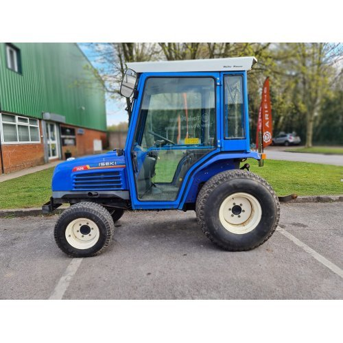 Iseki 325 4WD Manual Compact Tractor with Full Cab
