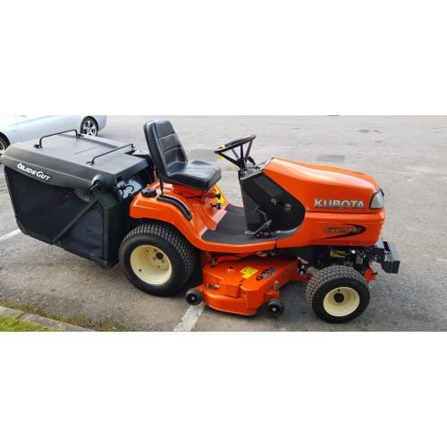 "Kubota G21E (Low Dump) Garden Tractor with 48"" Deck"