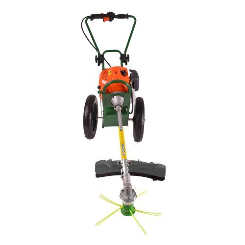 Portek RufCut Wheeled Brushcutter and Heavy Duty Strimmer (027)