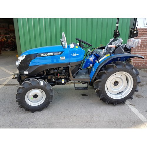 Solis 26 Compact Tractor (26HP with wide agricultural tyres)