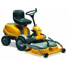 Stiga Villa 14 HST Mulching Petrol Out Front Ride-on Mower with Villa 95cm Combi Cutting Deck