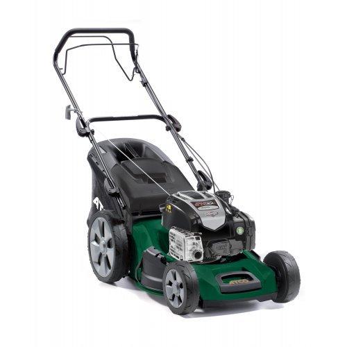 "Atco Quattro 22S 4-in-1 53cm/21"" Self-propelled 4-Wheel Petrol Lawnmower"