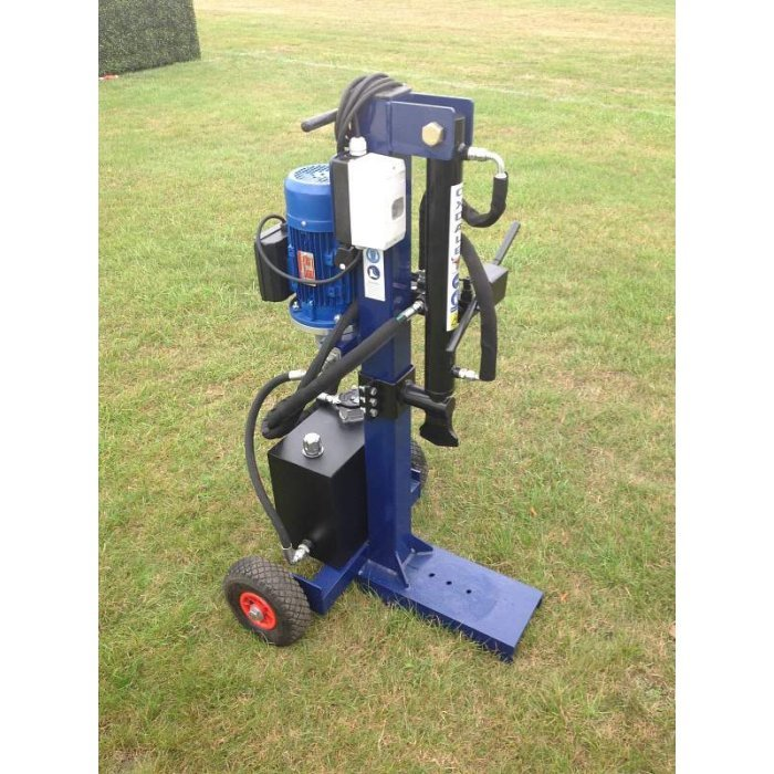 Oxdale E400 Electric Log Splitter Made In The UK 10 Tonne Splitting Force
