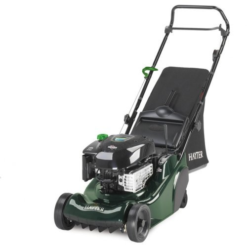 "Hayter Harrier 41 16""/41cm Petrol Push Rear Roller Lawnmower"