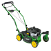 "John Deere JS63VC 21""/53cm Petrol Mulching Lawnmower with caster wheels"
