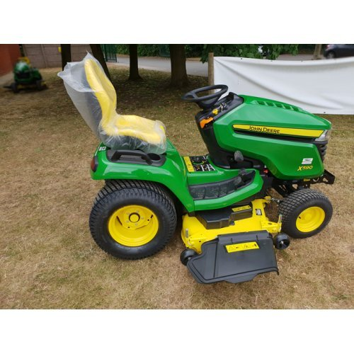 "John Deere X590 Garden Tractor with 54"" Accelerator Deck and Mulch Kit (SHOP SOILED)"