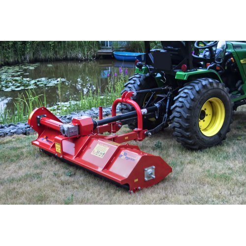 Mistral Top Italian Offset Flail Mower MTP158 1 58m