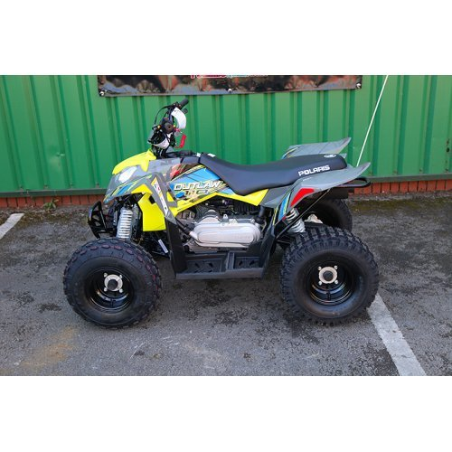 Polaris Outlaw 110 Lime Green Kids Quad