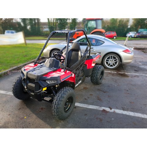 Polaris ACE 150 EFI - Kids ATV - Indy Red