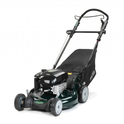 "Hayter R53S 21""/53cm Petrol Autodrive Electric Start Recyling Lawnmower (steel deck)"