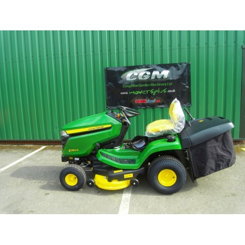 """John Deere X350R Garden Tractor with 42""""/107 cm Rear Discharge Deck with Mulch Plug (Shop Soiled)"""