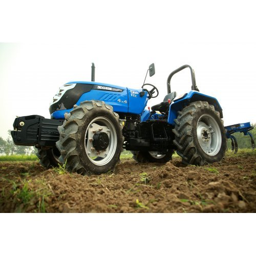 Solis 50 Compact Tractor 4WD (50HP with agricultural tyres)