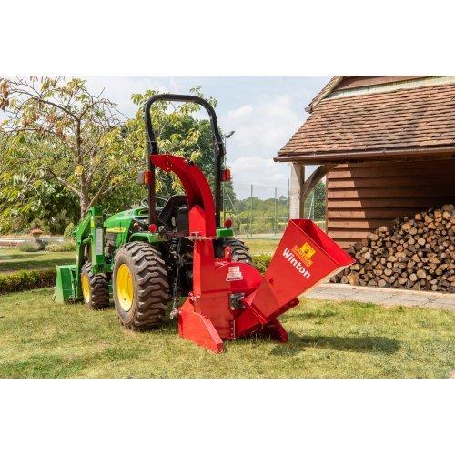 WWC Winton 4″ Wood Chipper (PTO tractor)