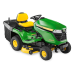 "John Deere X350R Garden Tractor with 42"" Rear Discharge Deck & Mulch Plug"