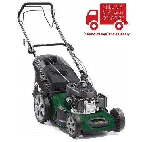 "Atco Quattro 19SH 4-in-1 48cm/19"" Self-propelled 4-Wheel Petrol Lawnmower"